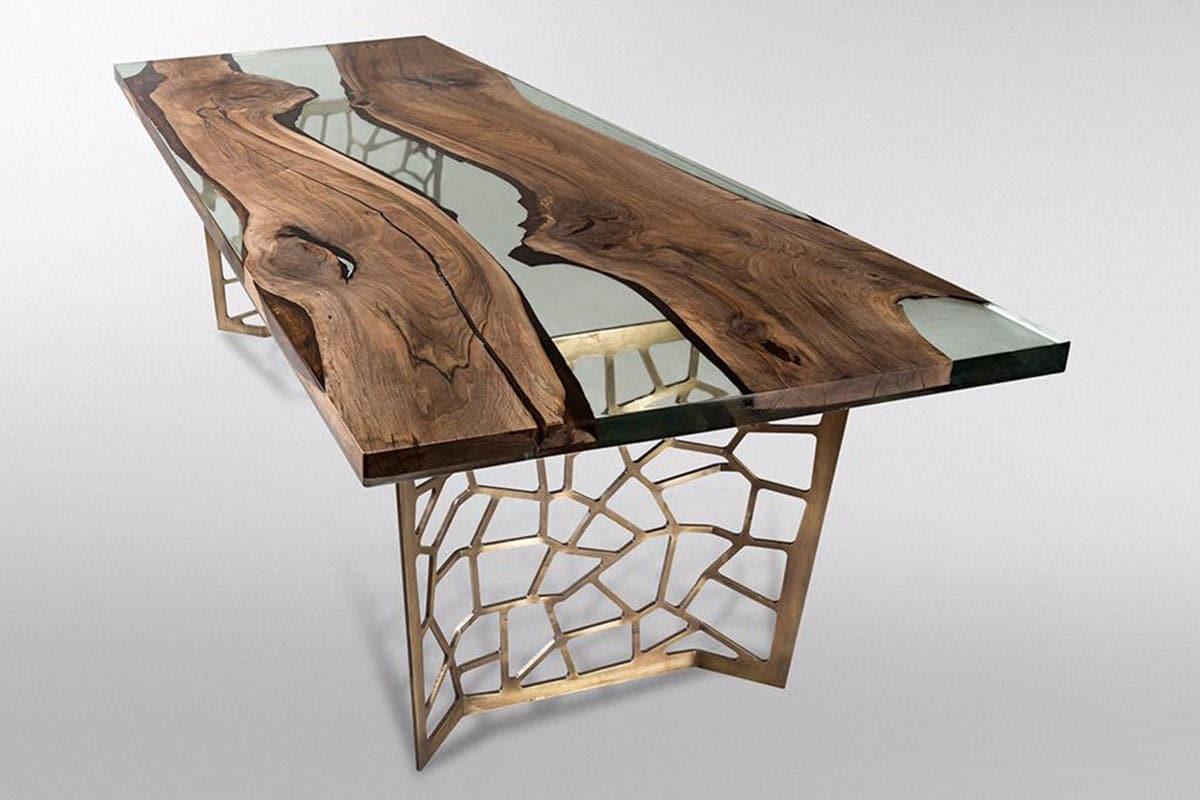 Gizzwood Tisch Voronoi